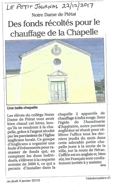 news in le petit journal